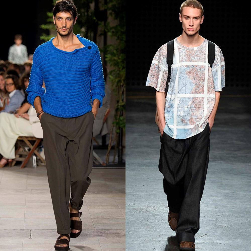 Мода Мужские Брюки