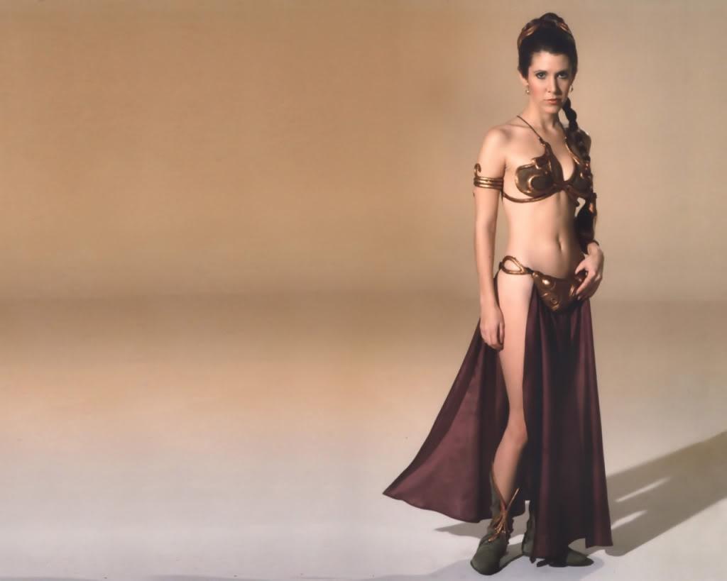 Фотки голой принцессу лею 26 фотография