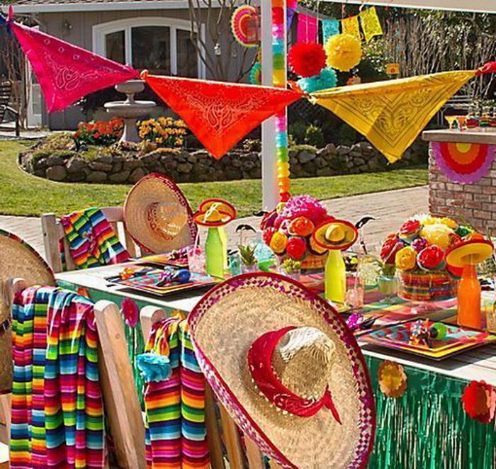 Мексиканская вечеринка атрибутика своими руками 87