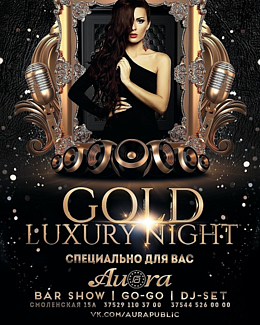 Gold luxury night